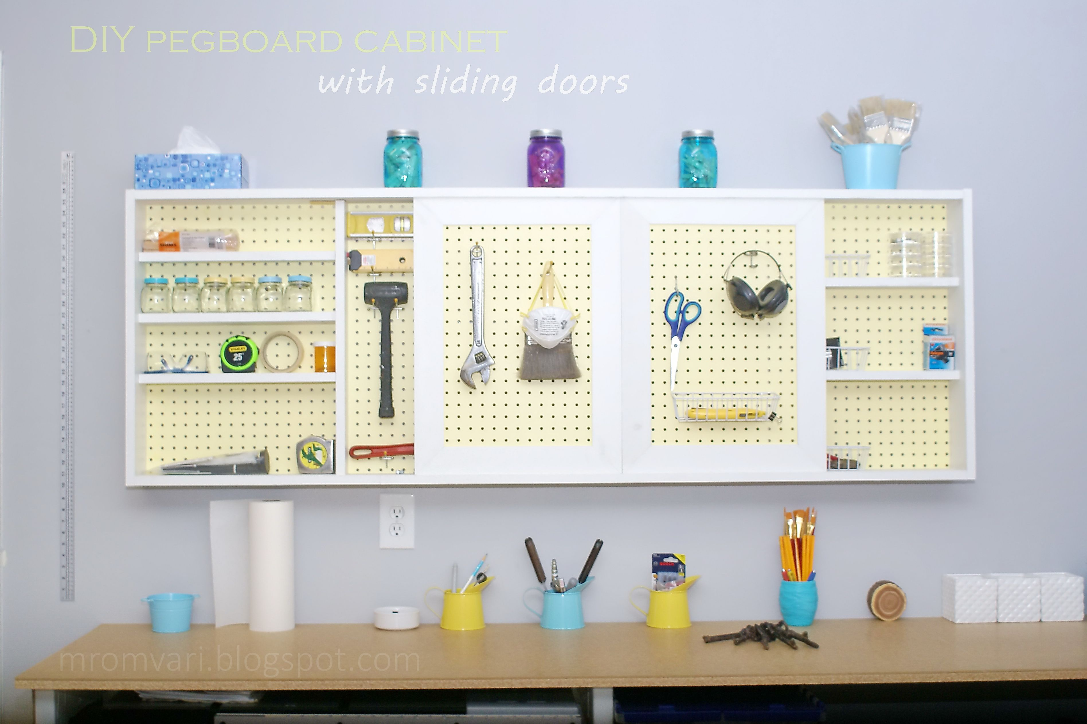 New and creative uses for pegboard in tools pinterest