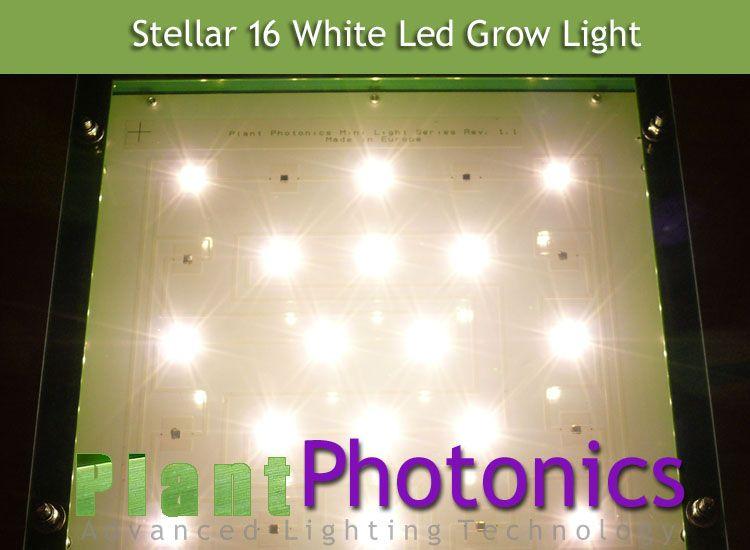 Stellar 16 Full Spectrum 85w Led Grow Light Plantphotonics