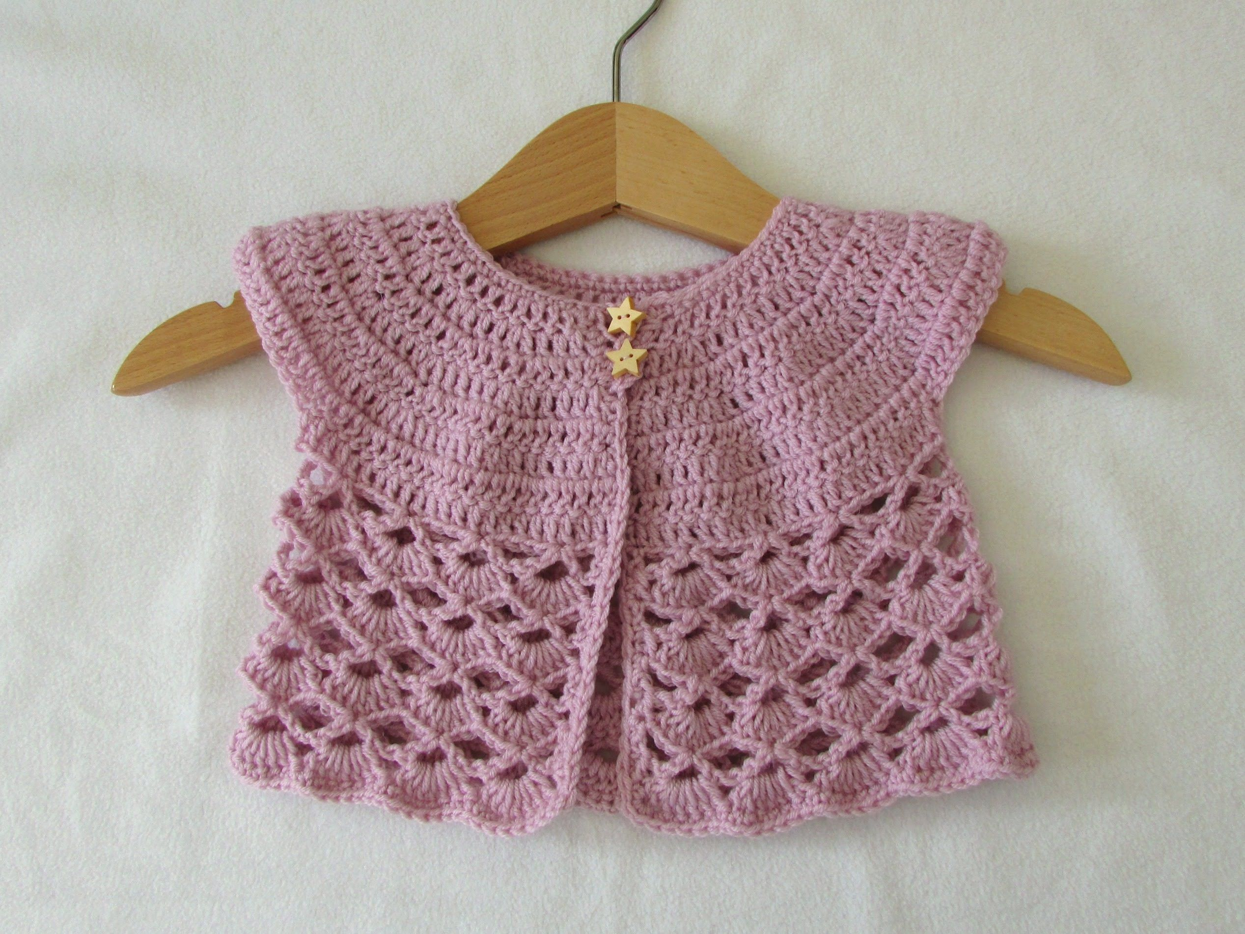 This tutorial will show you how to crochet an easy lace baby this tutorial will show you how to crochet an easy lace baby cardigan sweater this cardigan is suitable for beginners for size 0 3 months use a cro bankloansurffo Image collections
