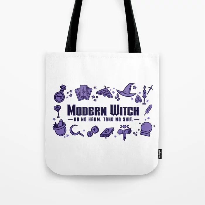 Modern Witch Do No Harm Tote Bag by szisszm0k | Society6 #modernwitch