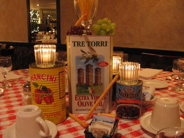 Italian Themed Party Supples Why The Table Decoration At Restaurant Sets Apart