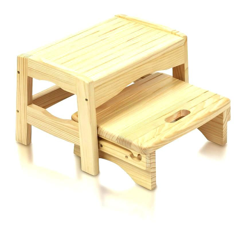 Small Wooden Step Stool Small Wood Step Stool Rustic Wooden Step