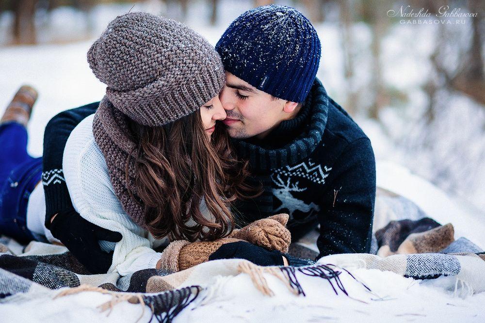днем рожденья фотографии целующихся пар зимой смоленске