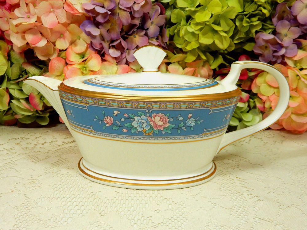 Beautiful Vintage Noritake Porcelain Teapot ~ Grand Terrace