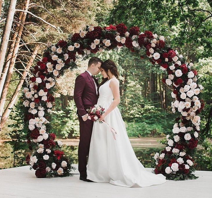 Forest Wedding Altar: Pin On Decorations