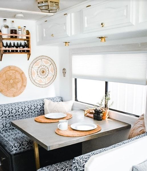 RV CAMPER DOES VAN LIFE REMODEL INSPIRE YOU – Interior Design Ideas & Home Decorating Inspiration – moercar