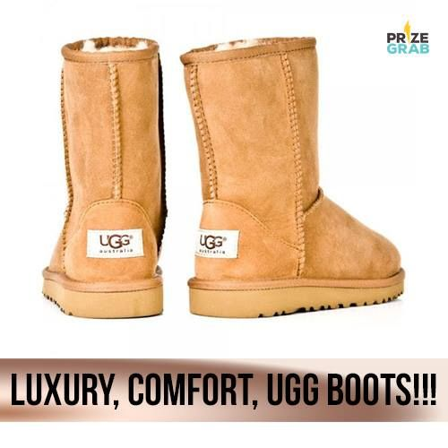 PRIZE ALERT: A Pair of Ugg Boots!