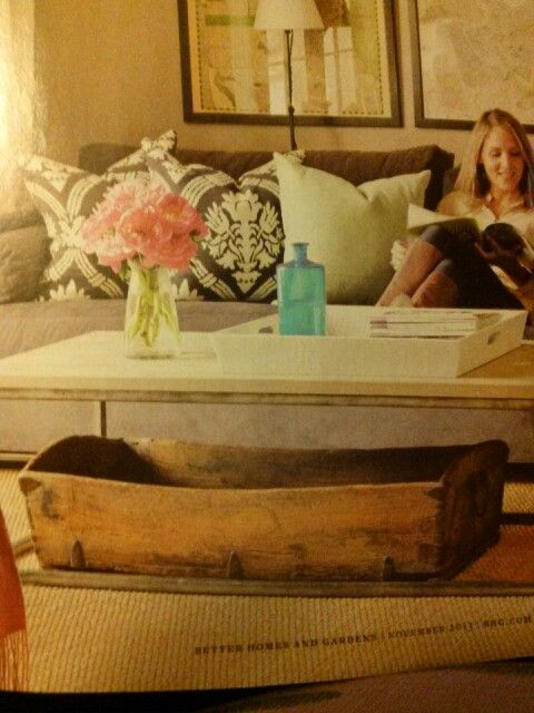 Cute living/family room idea.