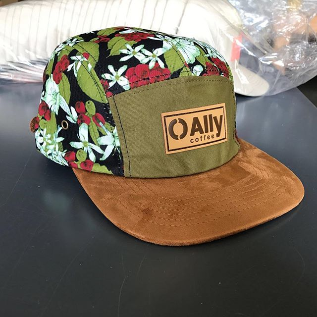 Custom 5 Panel Campers for Ally Coffee ( allycoffee) ⠀ Branding includes  custom sublimation 1384d2902d22