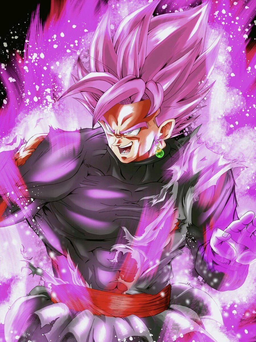 Goku Black Ssj Rose Anime Dragon Ball Super Dragon Ball Super Artwork Dragon Ball Wallpapers