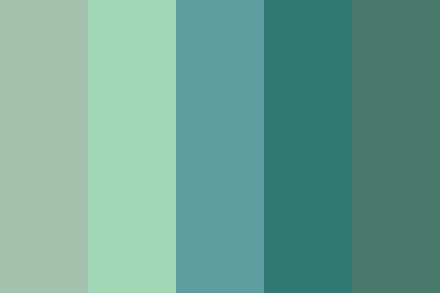 Seafoam Color Palette Seafoam Green Color Green Color