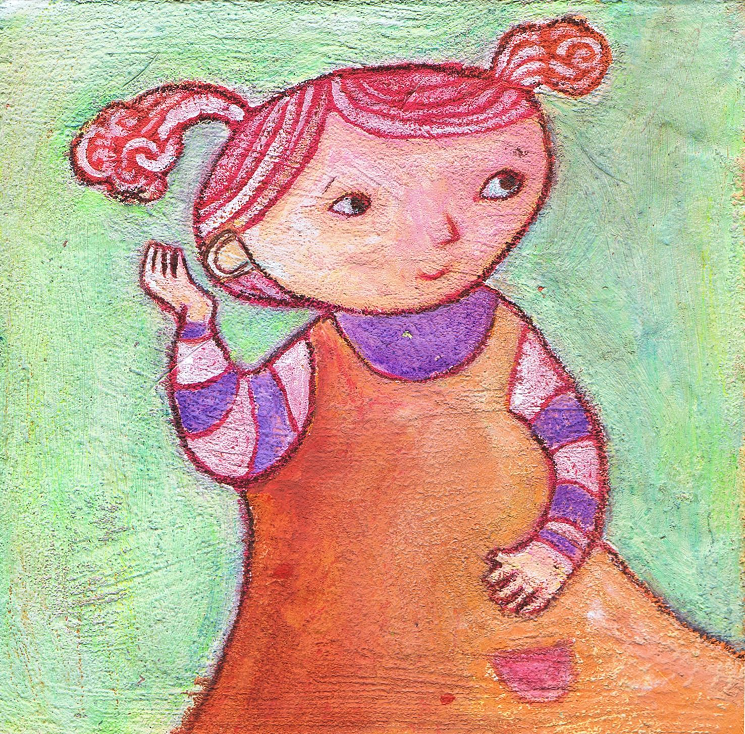 character for Babybug magazine. theaprildukes.com | Illustration ...