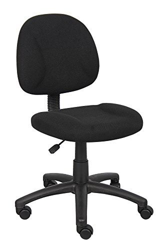 boss office products b315bk perfect posture delux fabric task chair