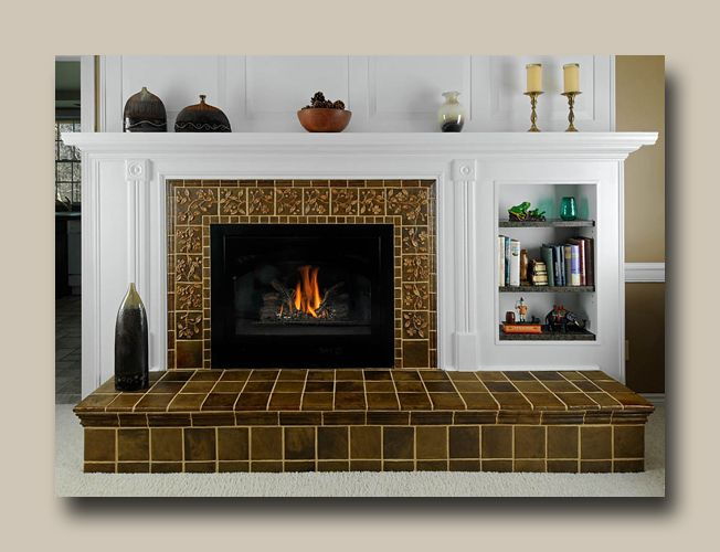 Decorative Tiles For Fireplace Weaver Tile  Tile Installations Kitchens Fireplaces Bathrooms