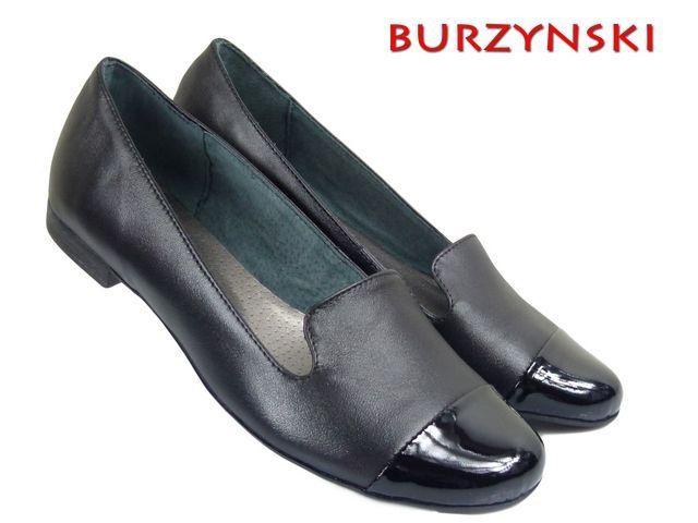 Lordsy 173mok L Czarny Baleriny Burzynski 5207510491 Oficjalne Archiwum Allegro Loafers Shoes Fashion