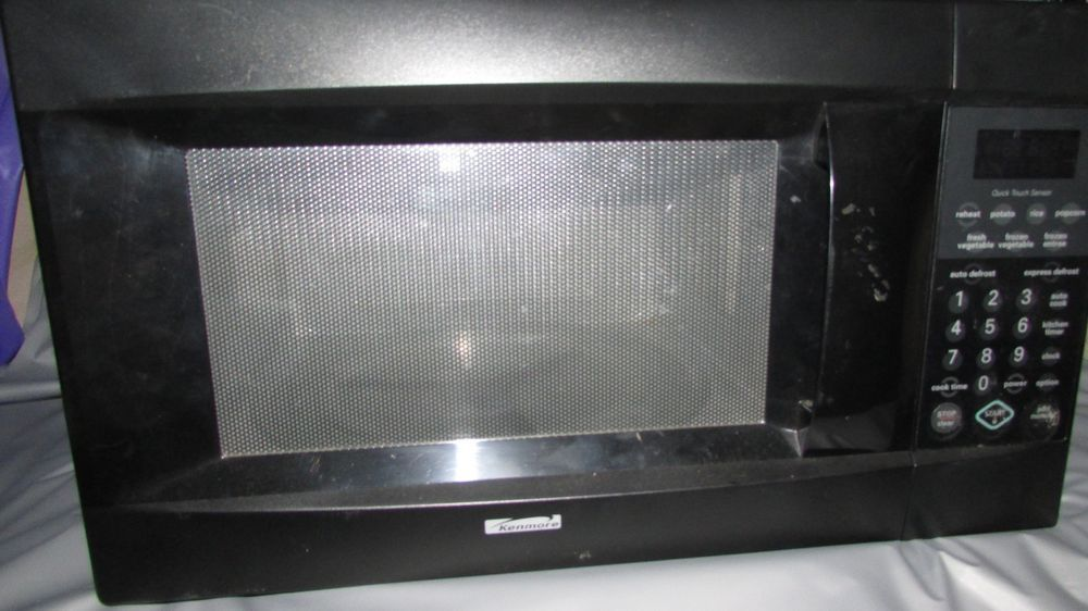 kenmore 1100 watt black counter top