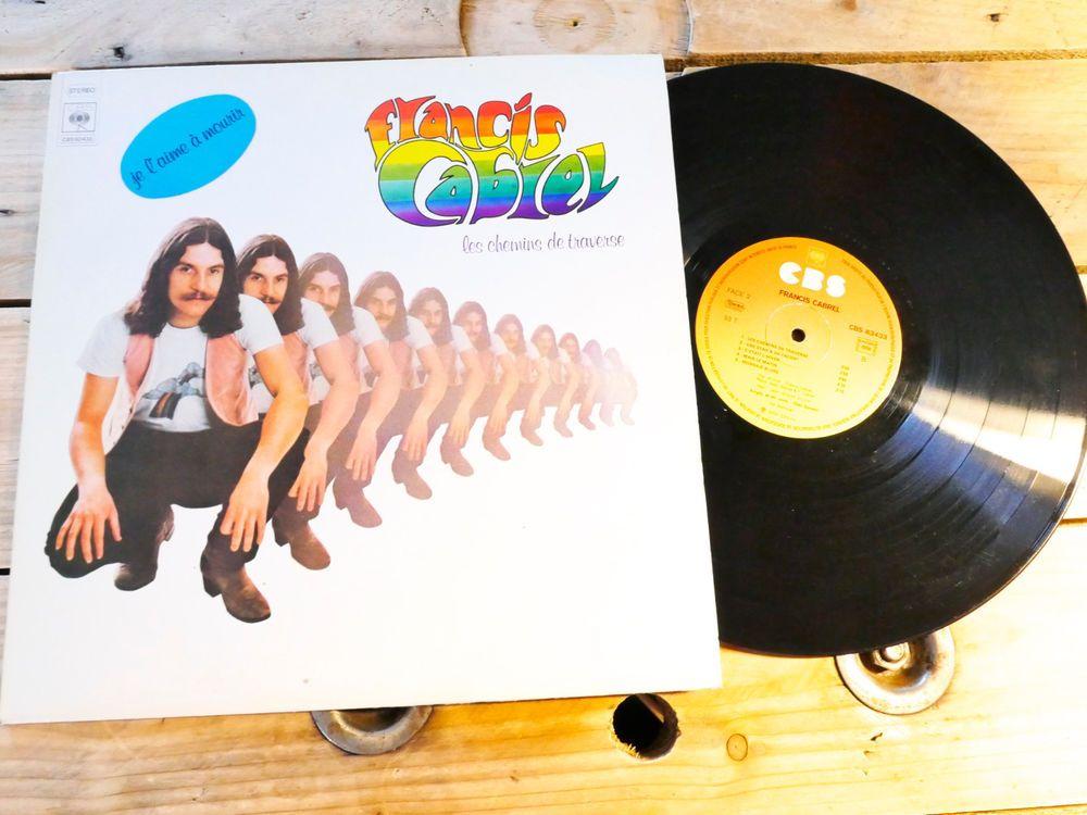 Francis Cabrel Les Chemins De Traverse Lp 33t Vinyle Ex Cover Ex Original 1979 Ebay Cabrel Chemin De Traverse Vinyle