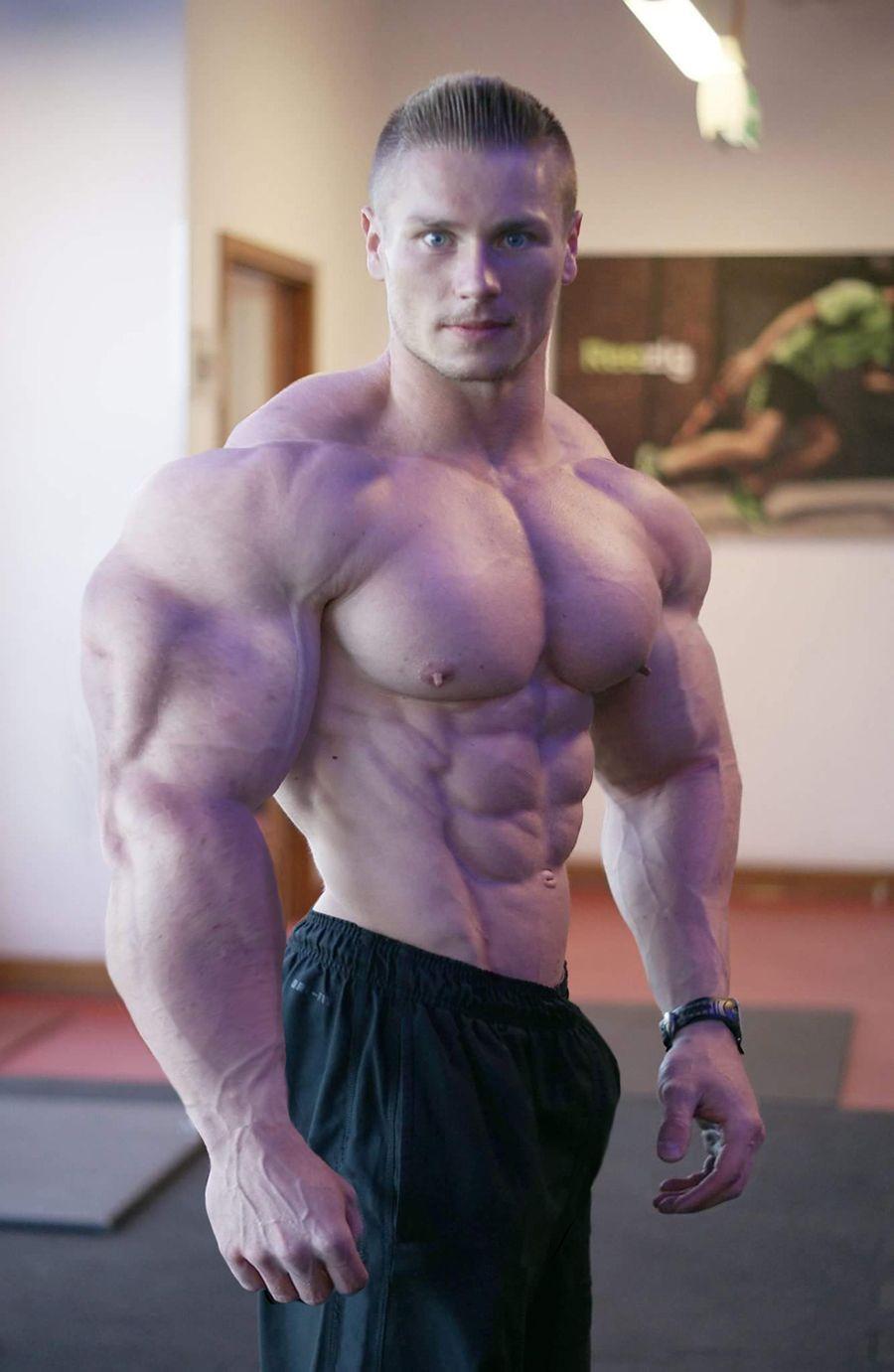 sexy schwule Bodybuilder