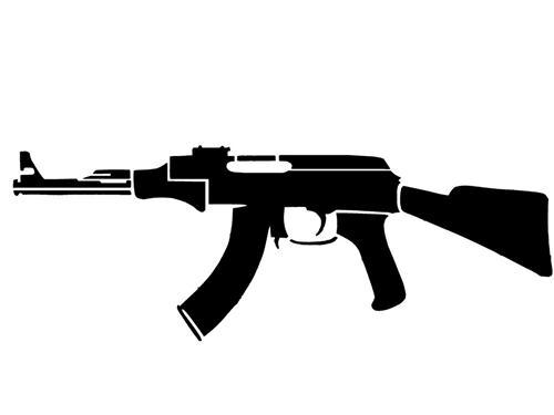 Pin On Assault Rifles Pistol Tattoos Bullets