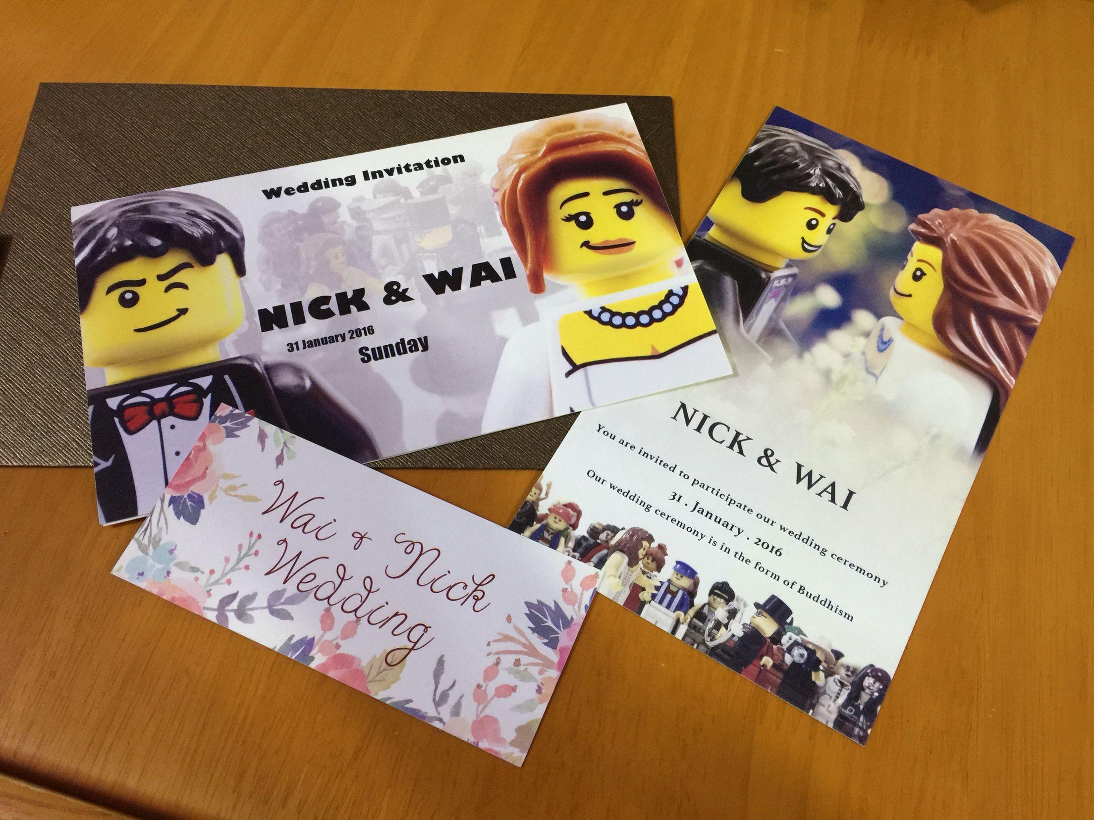 Pin By Chiu Wai Ip On Lego Wedding Geek