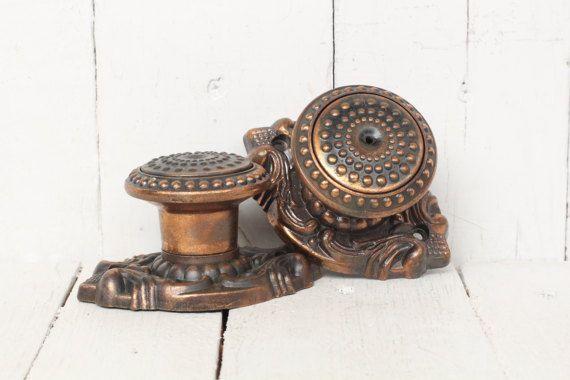 Retro Door Knob Door Knob Rustic Metal Door Knobs Door Hardware Soviet Vintage  Knob Handles Antique