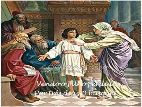 Canto Das Sete Dores De Nossa Senhora Arte Jesus Misterios Do