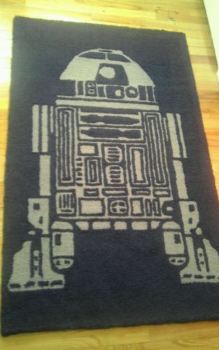 Pottery Barn Kids Star Wars R2 D2 Rug 3 X5 Preowned In