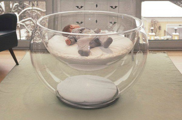 The Bubble Baby Bed Bursting The Bubble On Conventional Cot Design Baby Bed Twin Baby Rooms Luxury Baby