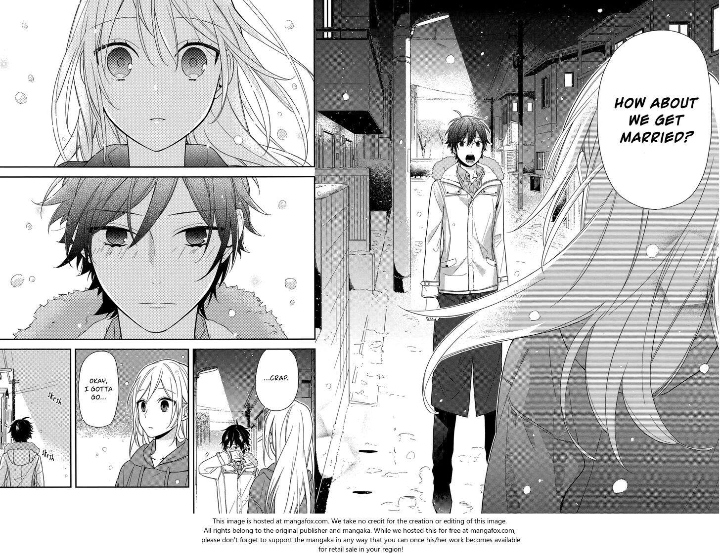 Horimiya manga couple love Manga