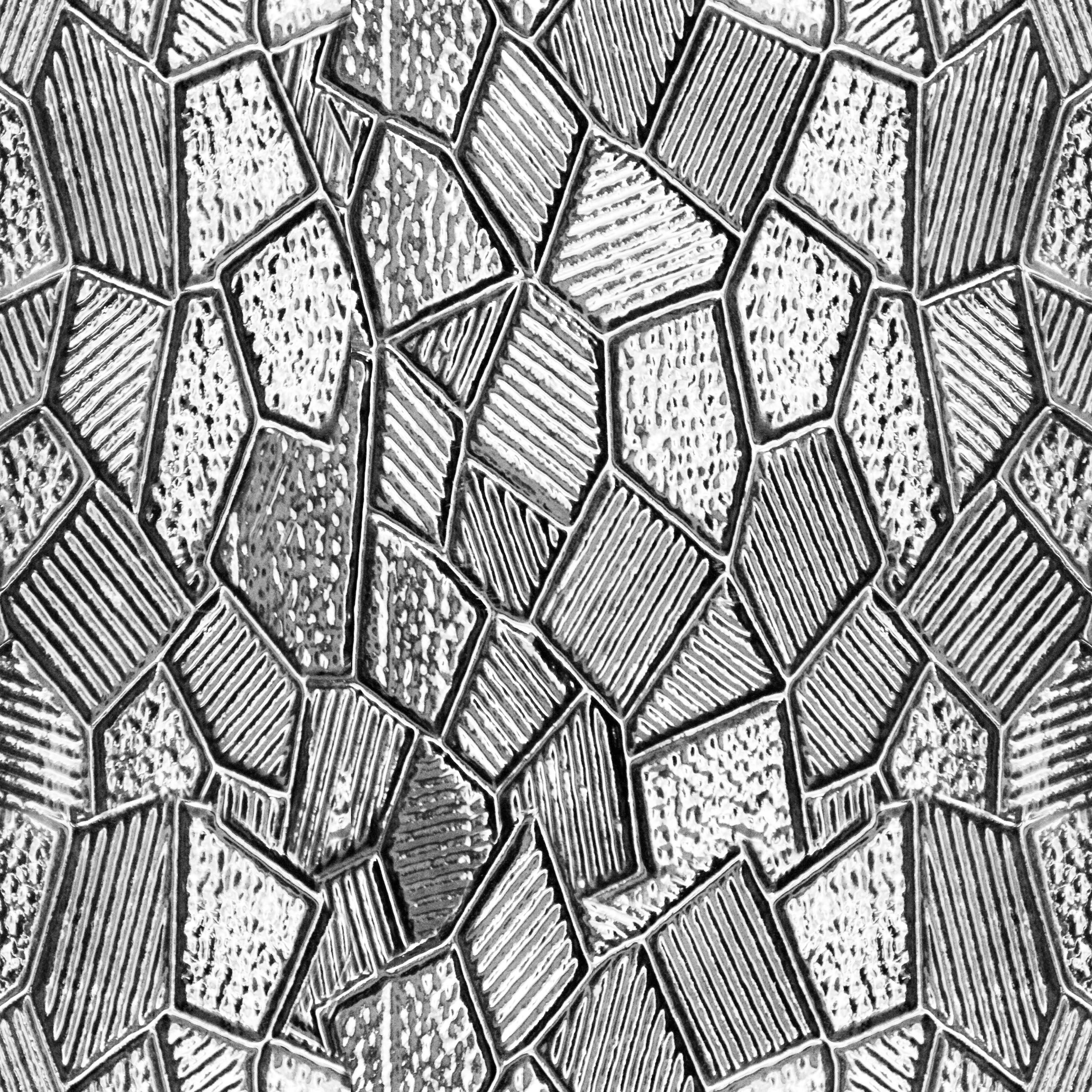 Frosted Glass Architecture Drawing
