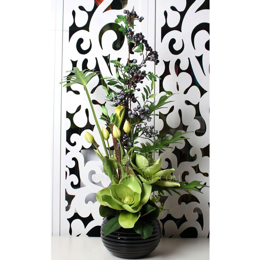 Qhy 52 Customized Artificial Flower Arrangement Flower Arrangement