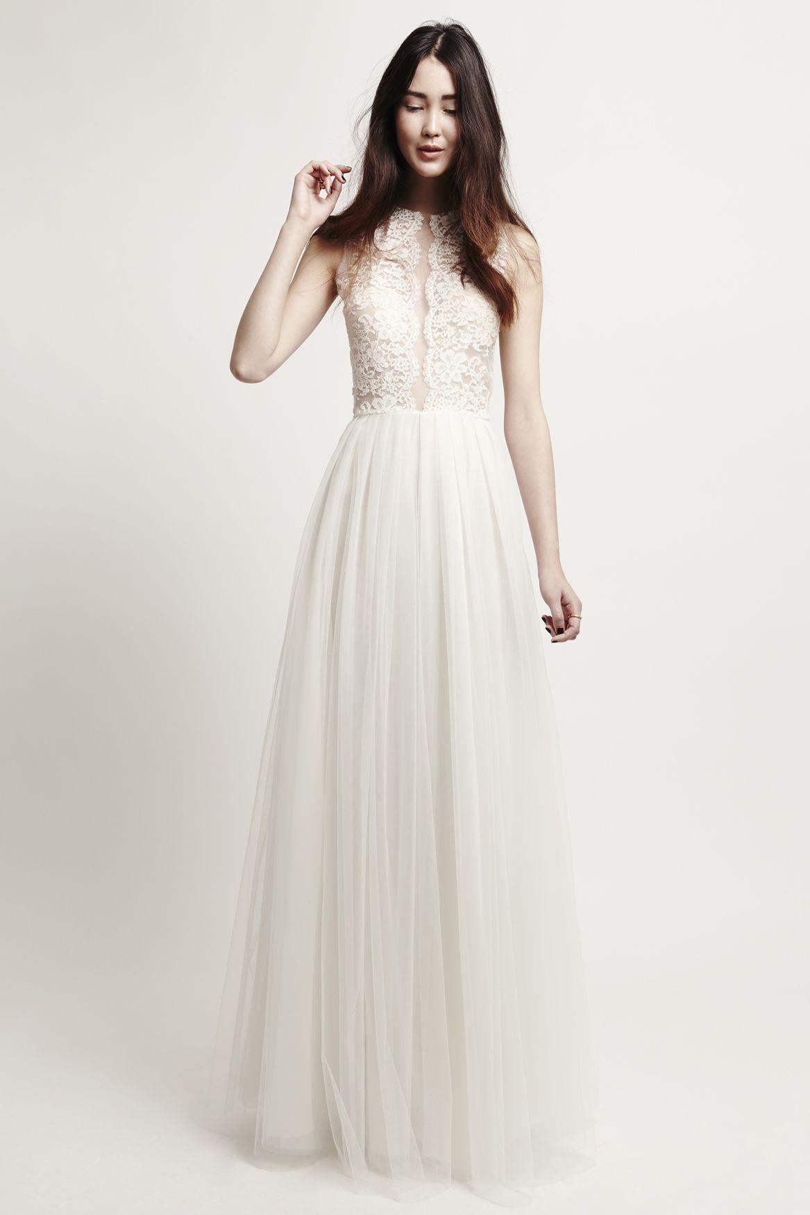 petite fleur dress kaviar gauche bridal dresses bridal gowns designer berlin wedding gown. Black Bedroom Furniture Sets. Home Design Ideas