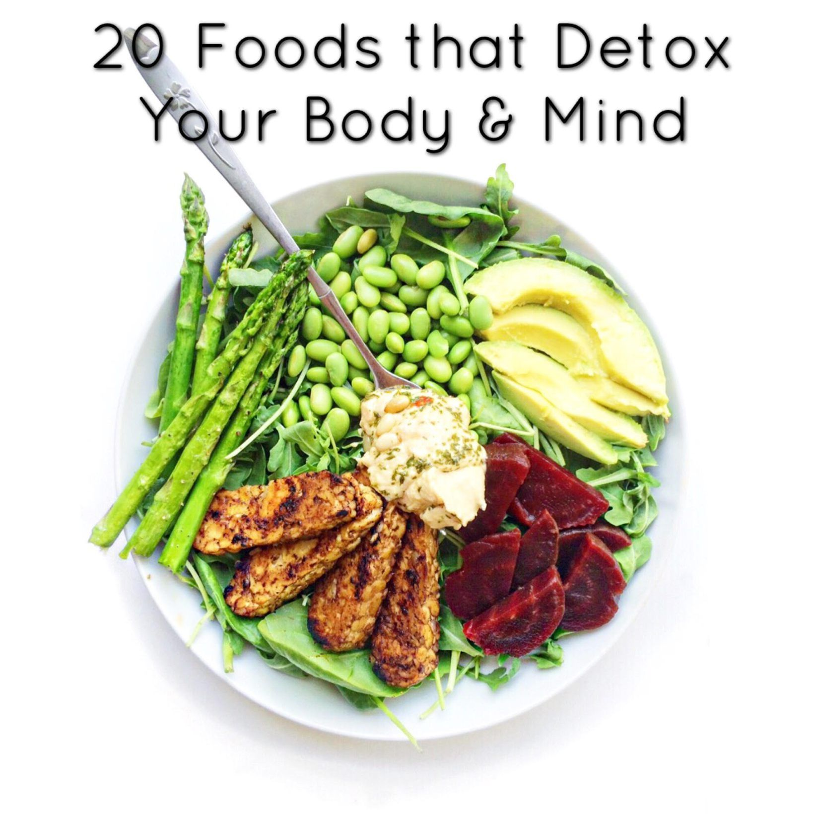 20 Foods That Detox Your Body  U0026 Mind The Connection