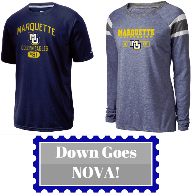 08989e97a3bb4c Find custom Marquette apparel at Prep Sportswear!  MUBB