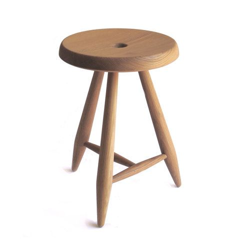 Groovy White Oak Alpine Stool Slow Thoughtful Home Stool Pabps2019 Chair Design Images Pabps2019Com