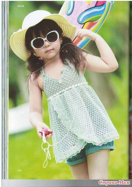Юным модницам, когда у меня будет внучка, все модели свяжу))) - Вязание - Страна Мам