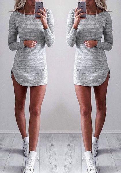 Vestidos cortos de moda deportivos