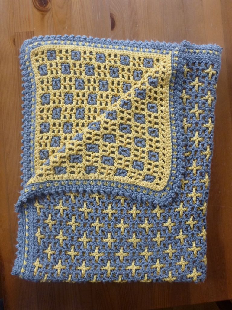 Written Instructions Available At Interlocking Crochet Squares