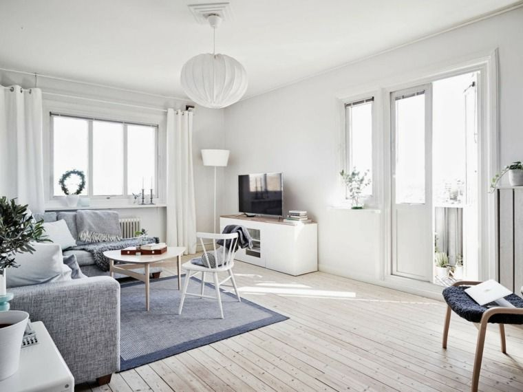 A Light And Airy White And Grey Swedish Apartment. Yes I Know Thatu0027s Not  Danish. But Light White And Woody *happy Sigh*