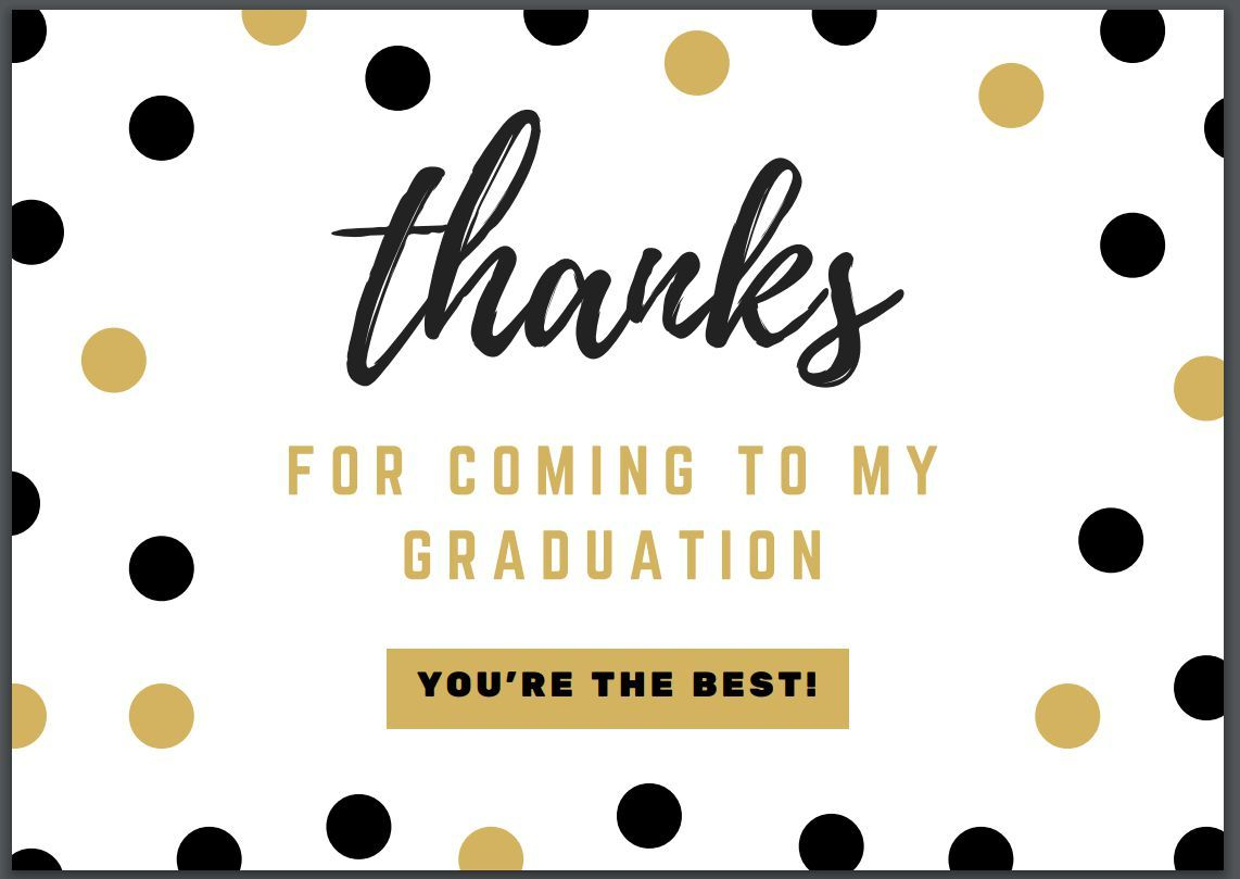The Amusing 7 Free Printable Graduation Thank You Cards Inside Sorry You Re Leaving Card Temp Graduation Thank You Cards Leaving Cards Valentine Card Template