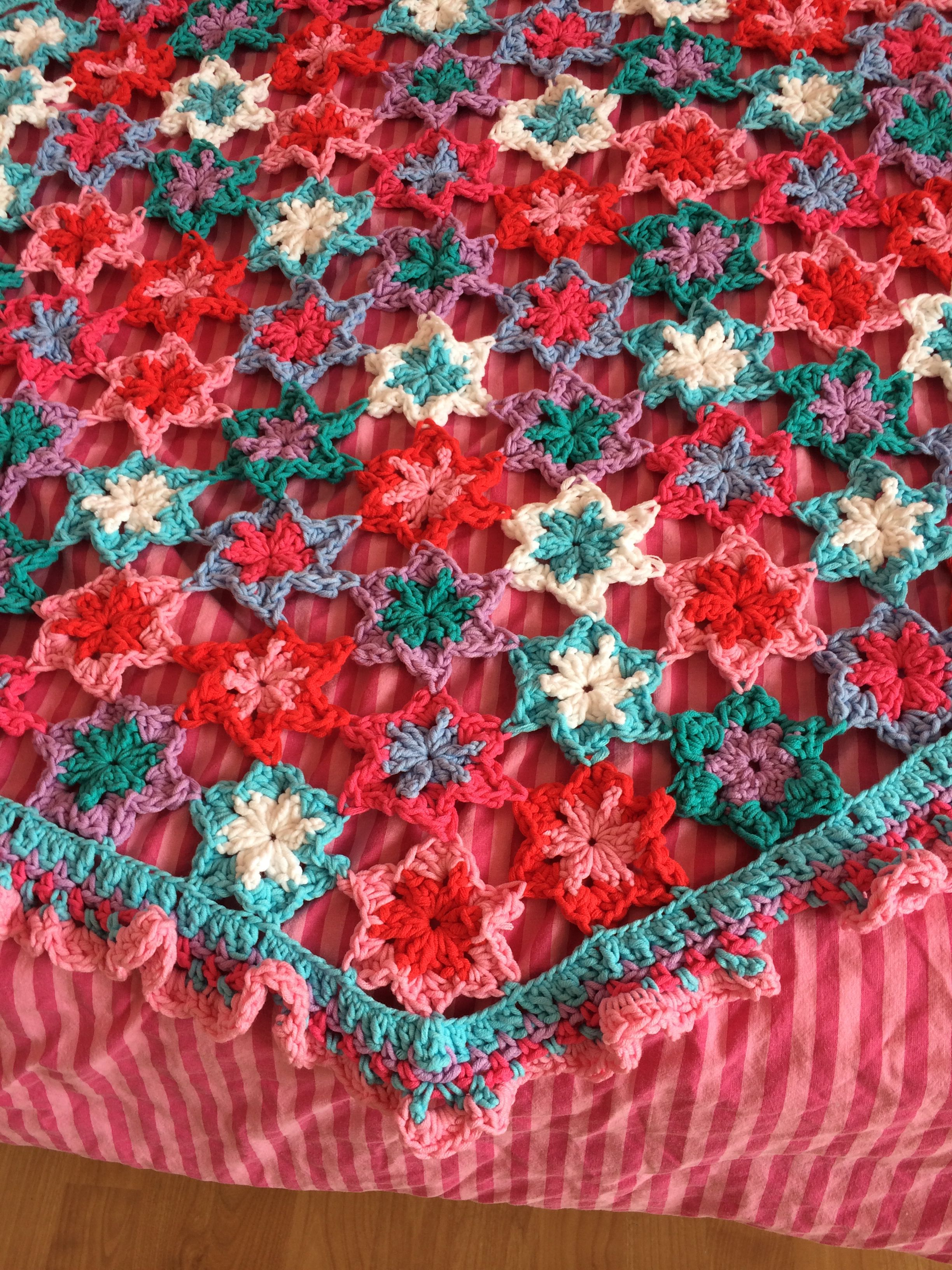 Bedspread For My Daughter Pattern By Claire Boeter En Saskia Laan