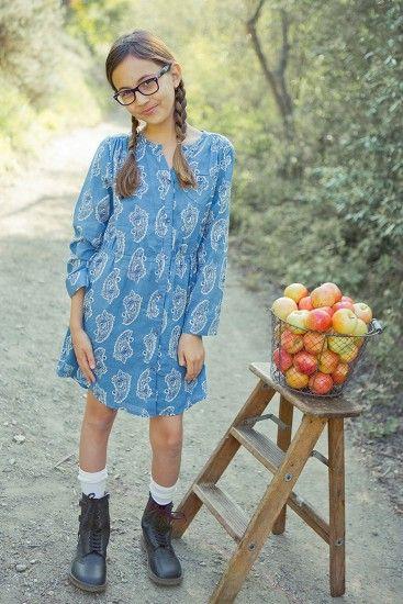 Relaxed Paisley Shirt Dress