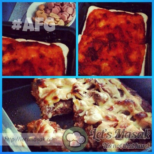 Resipi Resepi Recipe Pizza Roti Gardenia Recipes