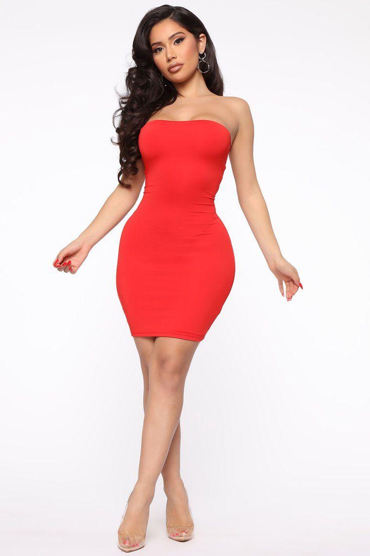 Charmed Bodycon Mini Dress Red Mini dress, Red dress