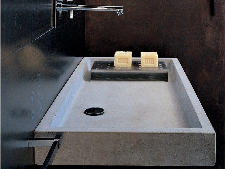 ELLE Waschbecken aus Beton by Moab 80 Design Gabriella Ciaschi ...