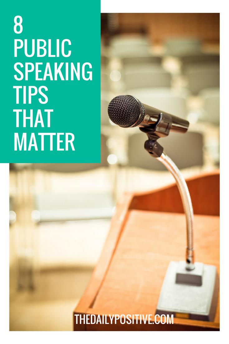 8 Public Speaking Tips That Matter   Circunstâncias