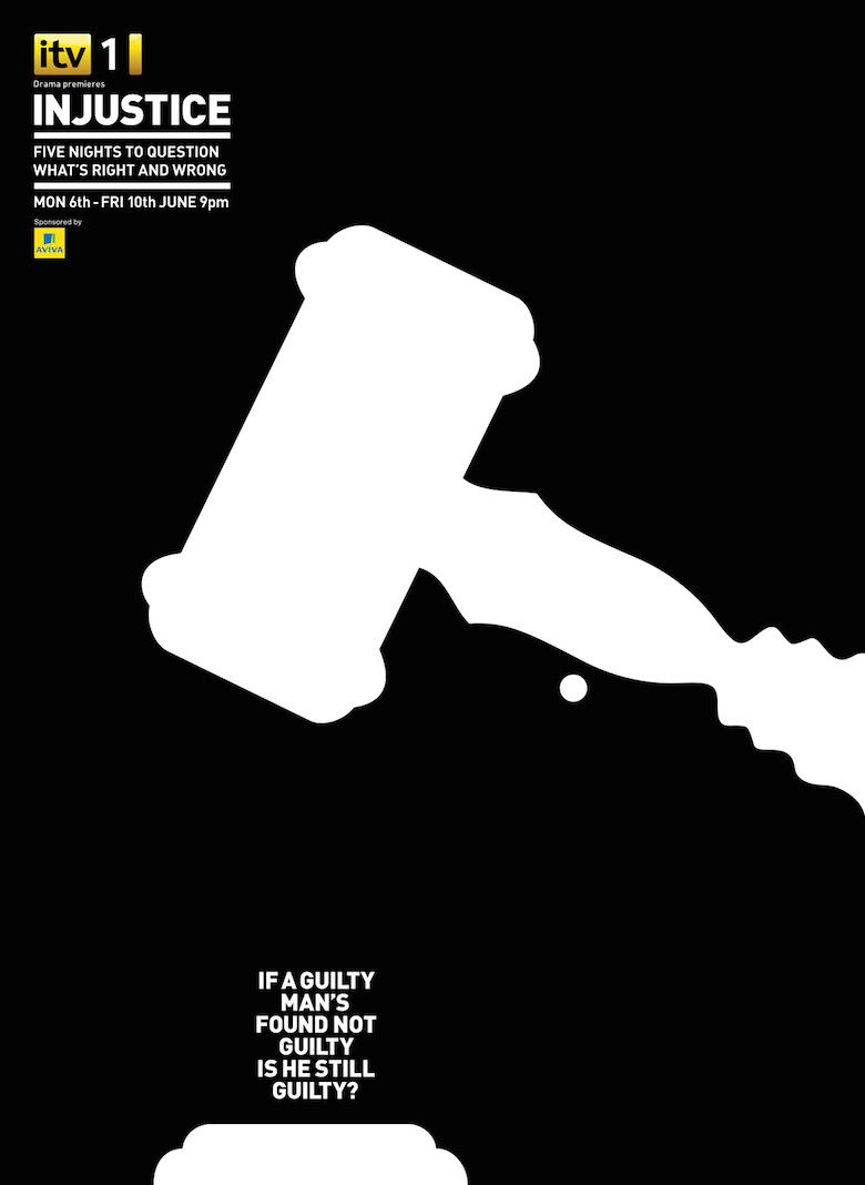 negative space art design illustrations ads itv injustice 4