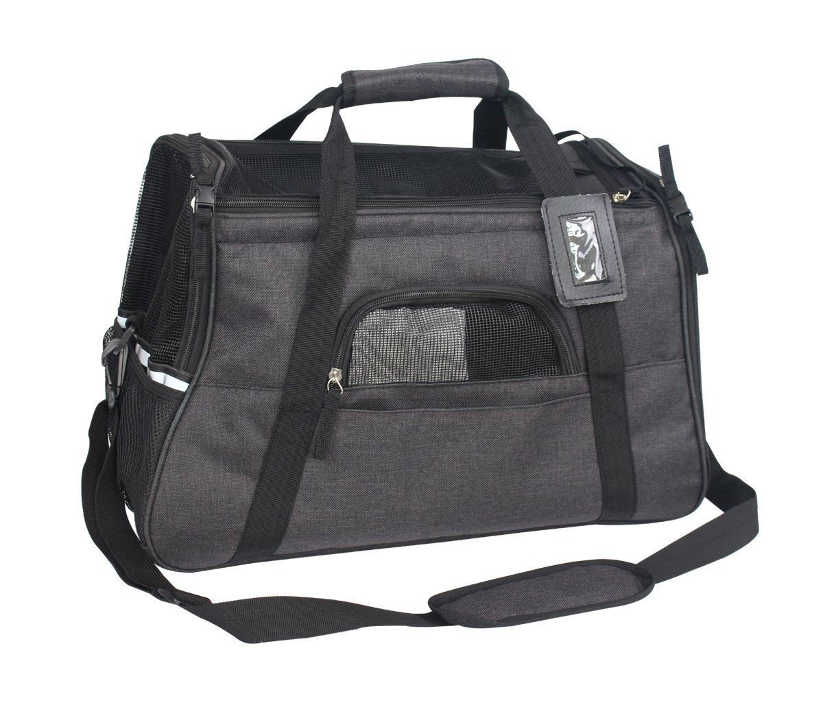 4cea2b2713 HiCaptain Airline Approved Soft Sided Pet Carrier Portable Dog #CatCarrier Cat  Carrier, Gym Bag