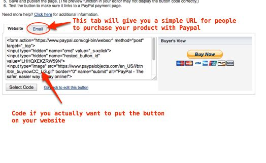 How To Add Products In Paypal For Use With A Mailing List Api Paypal Ads List