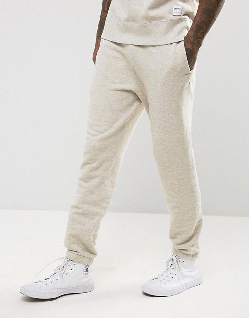 Converse Essentials Luxe Joggers In Beige 10000657-A11